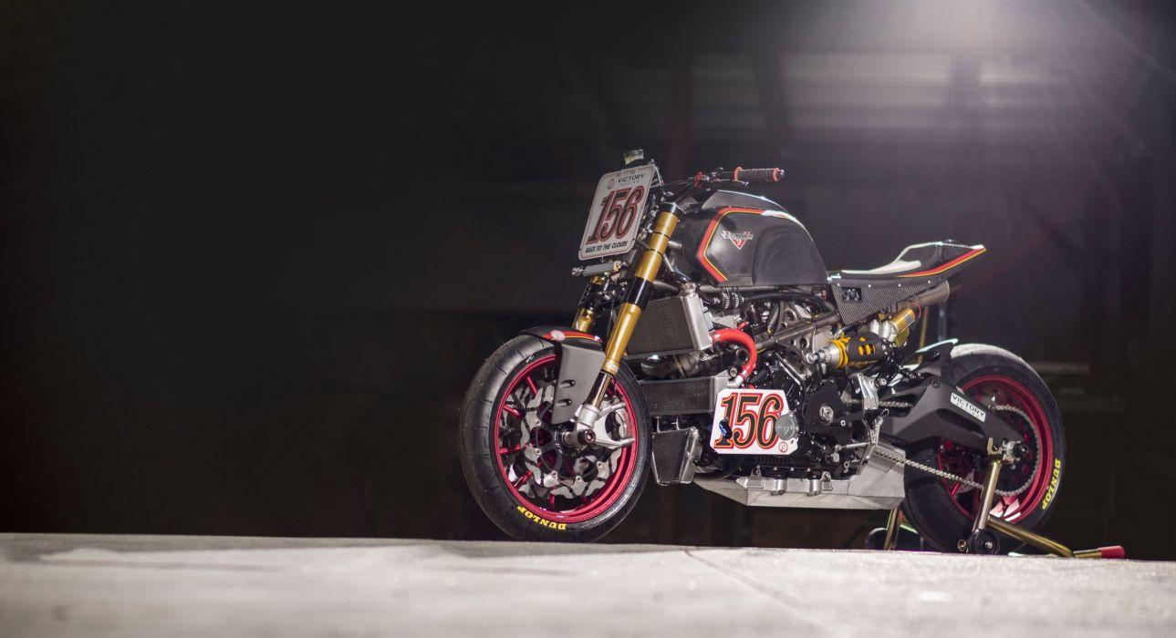 Victory Pikes Peak race bike 2016 motorcycles wallpaper