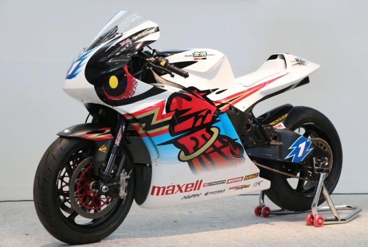 Mugen Shinden Yon electric superbike 2016 motorcycles wallpaper