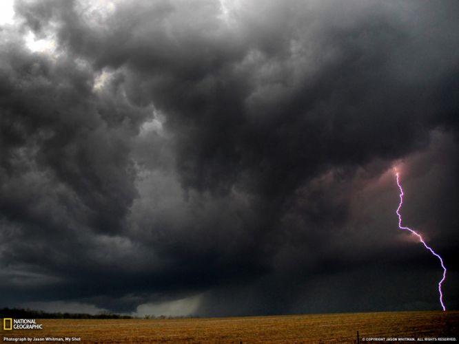 STORM weather rain sky clouds nature landscape lightning wallpaper