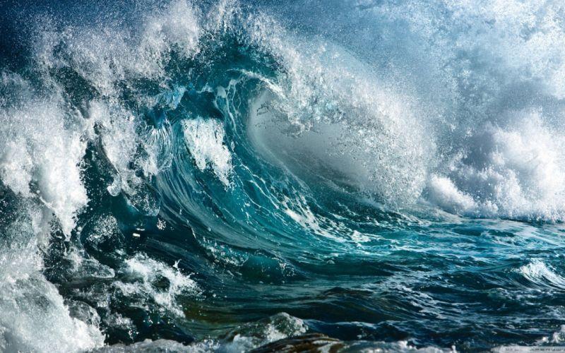 STORM weather rain sky clouds nature sea ocean waves wave wallpaper