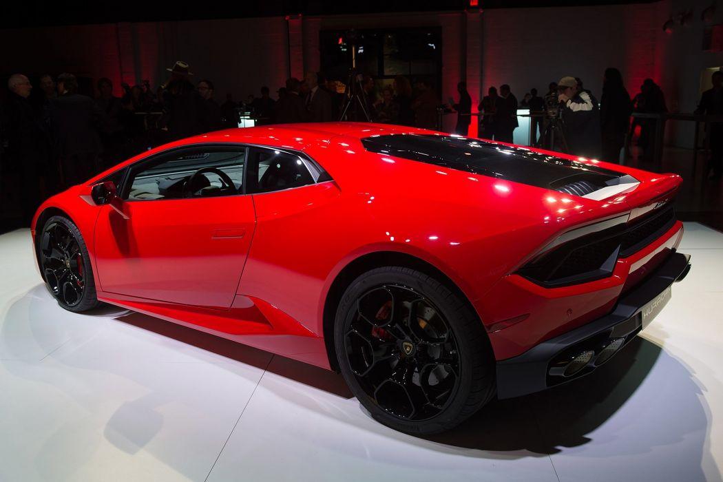 2016 cars huracan Lamborghini LP580-2 red supercars wallpaper