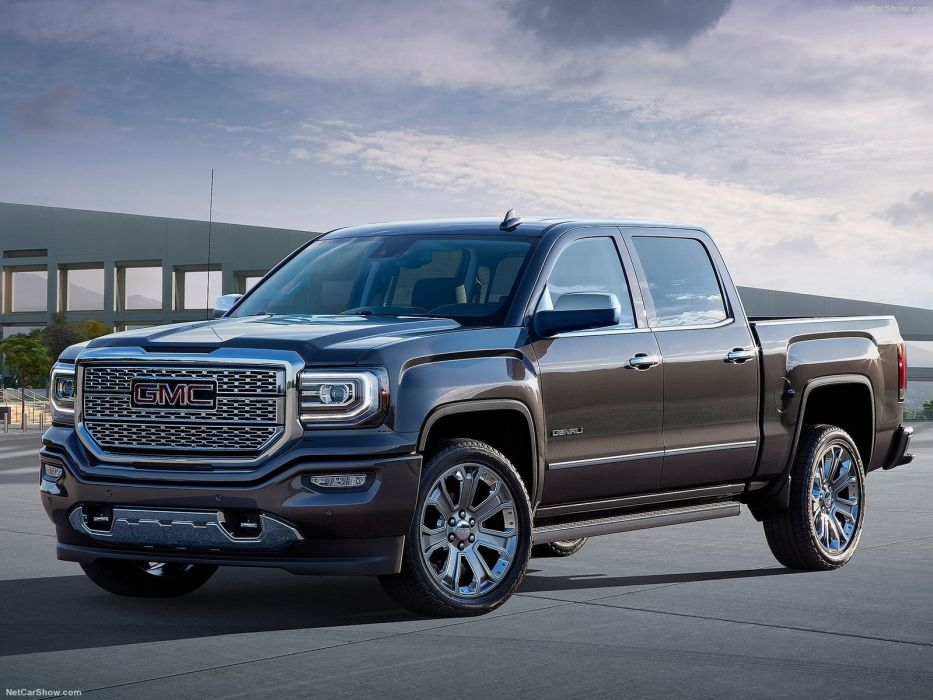 2016 GMC Ultimate Denali cars truck pickup wallpaper