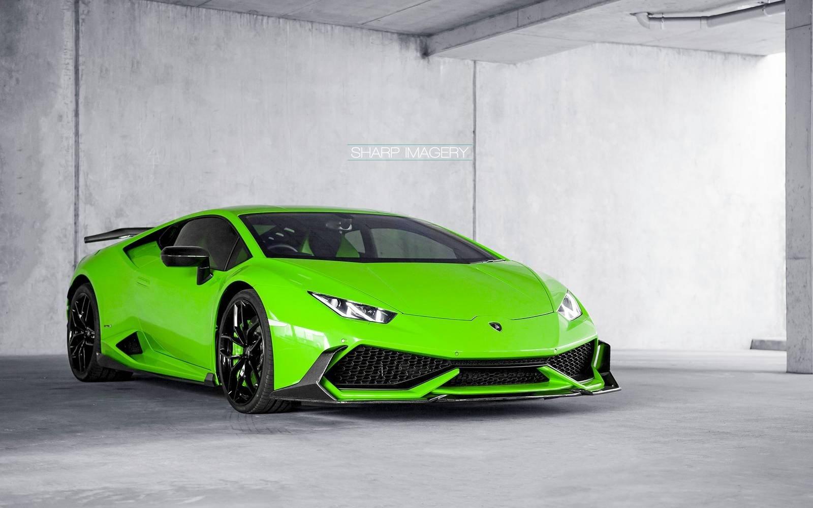 Wallpapers Green And Lamborghini On Pinterest: 2016 Lamborghini Huracan Akrapovic Exhaust Green Cars