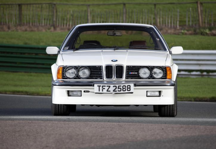 BMW M635 CSi UK-spec (E24) cars coupe white 1984 wallpaper