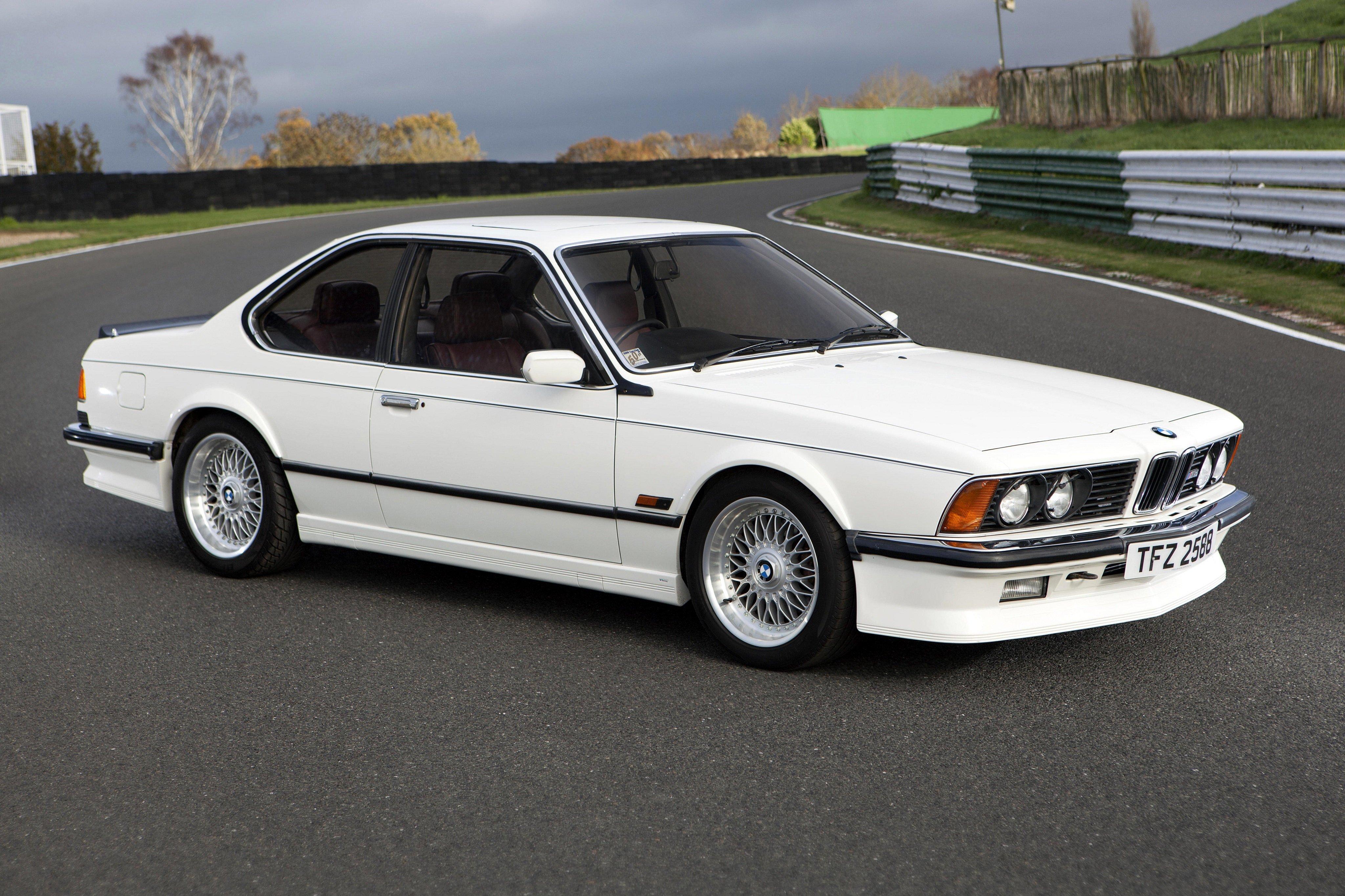 Bmw M635 Csi Uk Spec E24 Cars Coupe White 1984 Wallpaper