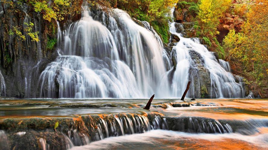bonitas cataratas paisaje naturaleza wallpaper