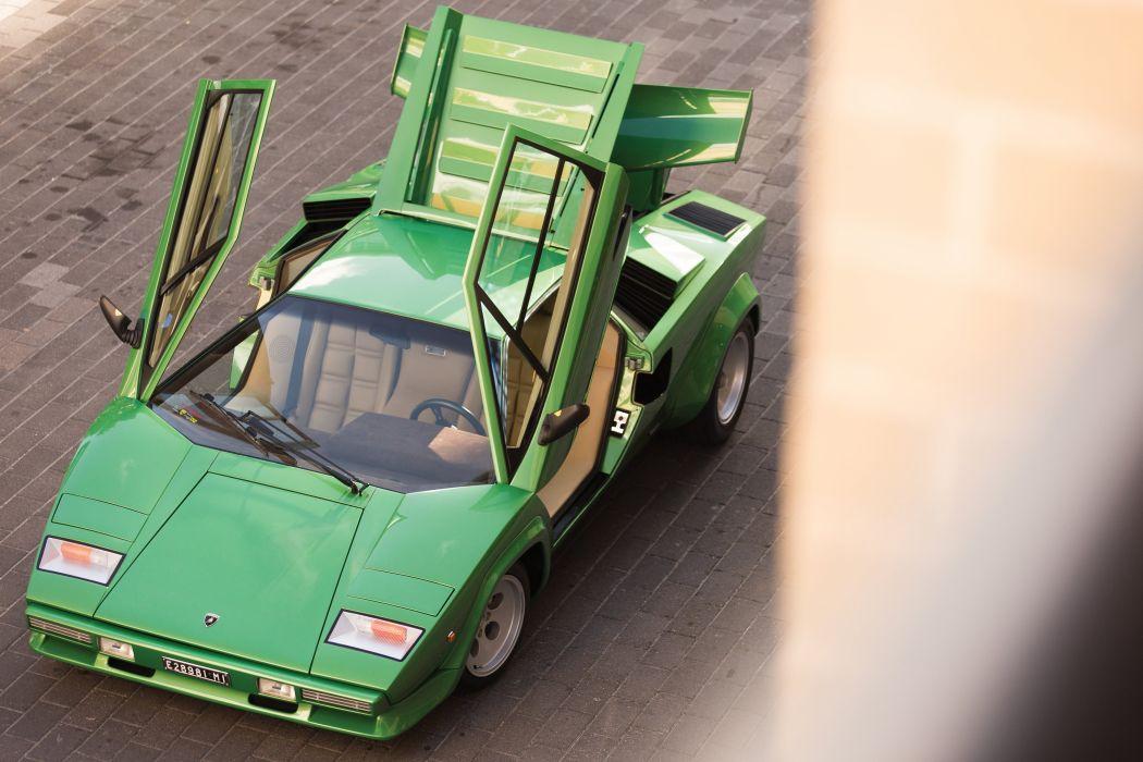 Lamborghini Countach LP400-S cars supercars 1981 wallpaper