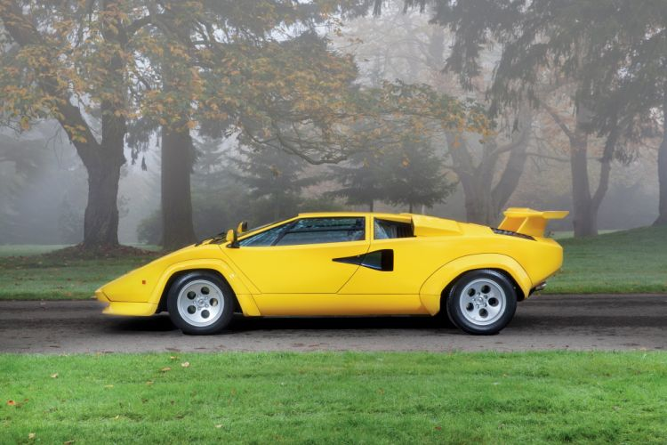 Lamborghini Countach LP400-S cars supercars 1981 wallpaper