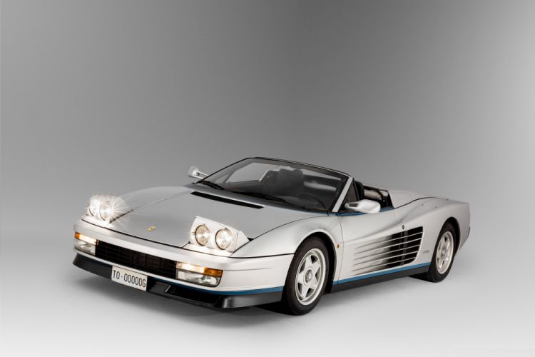 Ferrari Testarossa Spider cars 1986 wallpaper