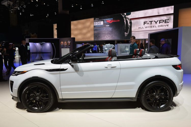 2015 cars convertible evoque Land range rover suv white wallpaper