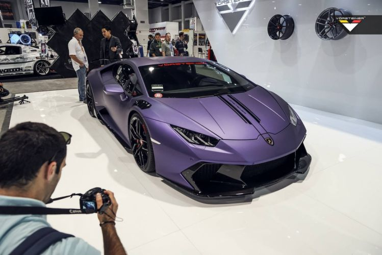 Vorsteiner SEMA 2015 Lamborghini Huracan cars supercars modified wallpaper