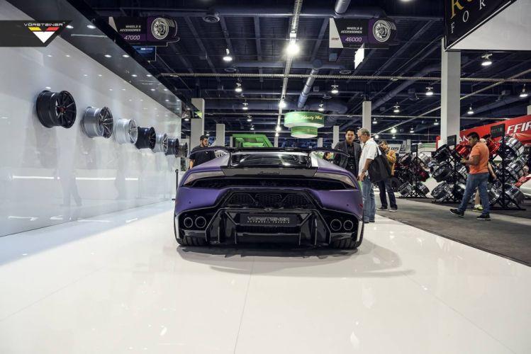 Vorsteiner SEMA 2015 Lamborghini Huracan cars supercars modified wallpaper