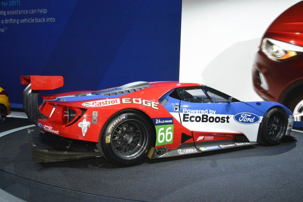 2016 Ford-GT racecars cars wallpaper