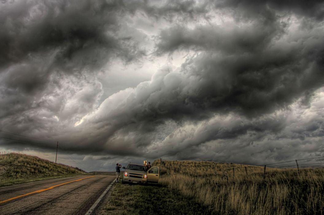 STORM weather rain sky clouds nature landscape wallpaper