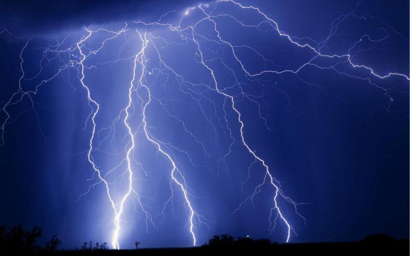 STORM weather rain sky clouds nature lightning wallpaper