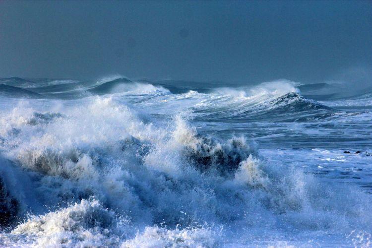 STORM weather rain sky clouds nature desert sand landscape sea ocean waves wallpaper