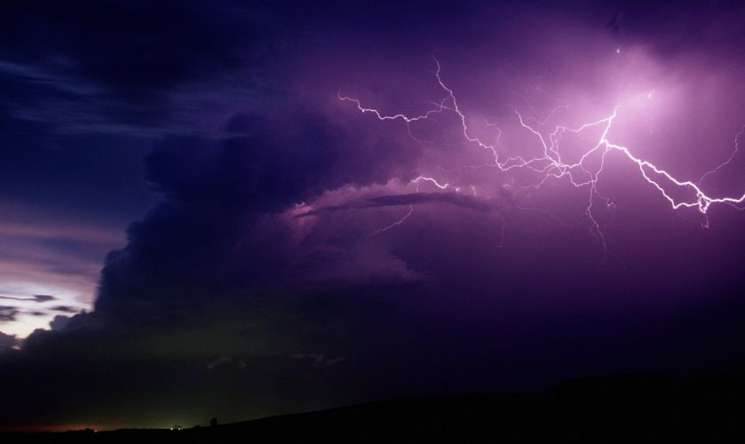 STORM weather rain sky clouds nature lightning wallpaper