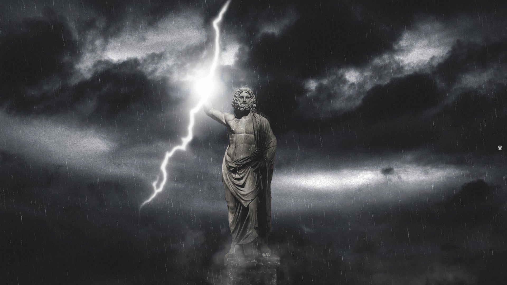 storm weather rain sky clouds nature lightning gods god