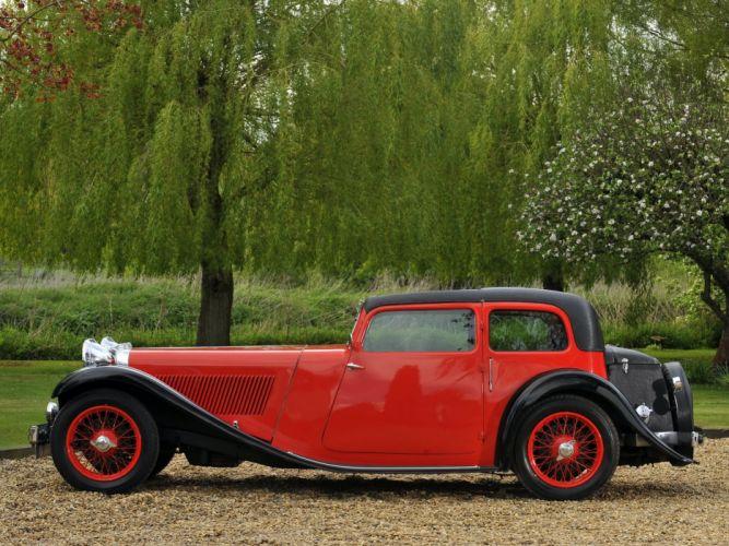 1932-36 Jaguar SS1 coupe luxury tertro vintage wallpaper
