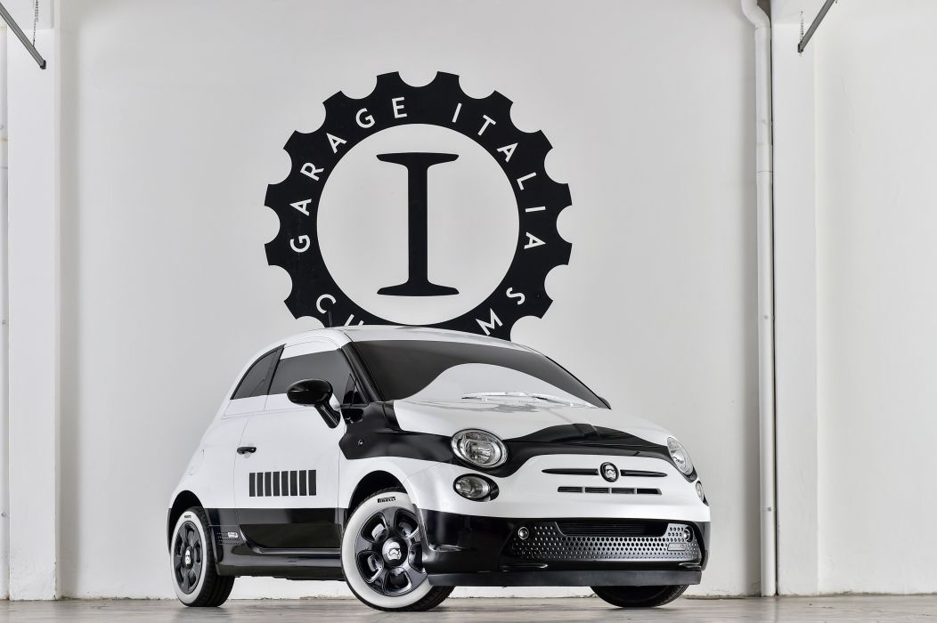 2015 Fiat 500e stormtrooper F-F concept wallpaper