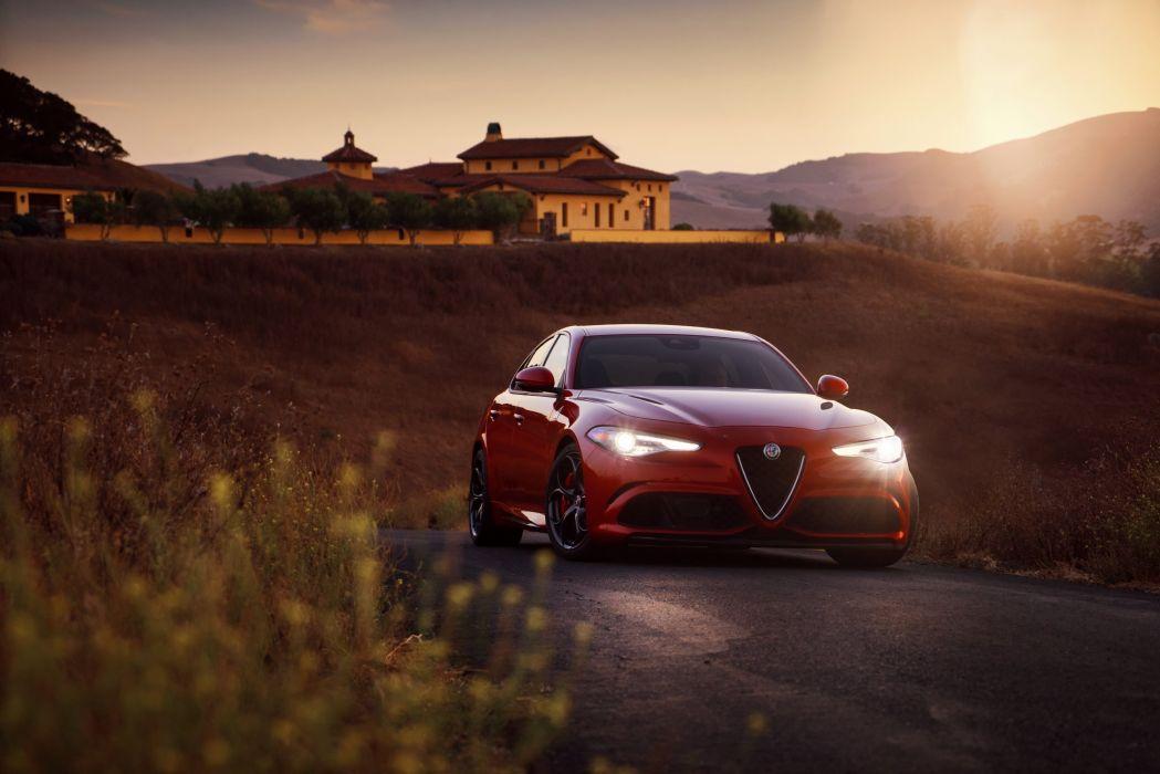 2017 Alfa Romeo Giulia Quadrifoglio Us Spec 952 Wallpaper