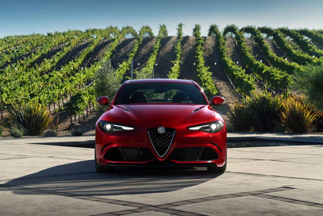 2017 Alfa Romeo Giulia Quadrifoglio US-spec 952 wallpaper