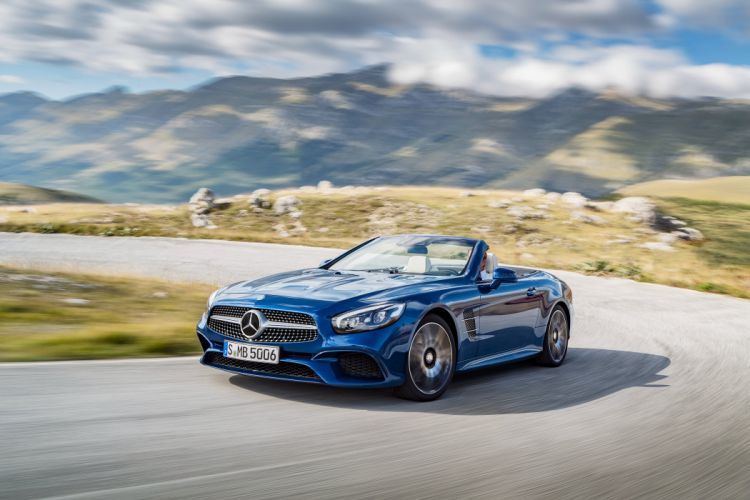 2016 Mercedes Benz SL500 R231 wallpaper
