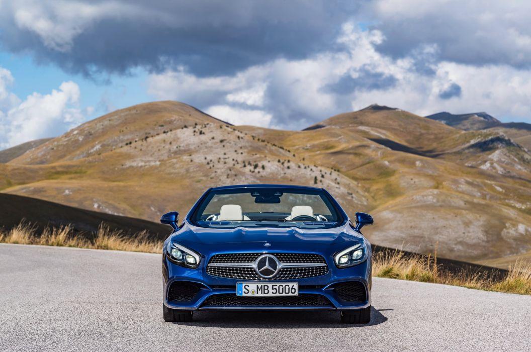 2016 Mercedes Benz SL500 R231 wallpaper