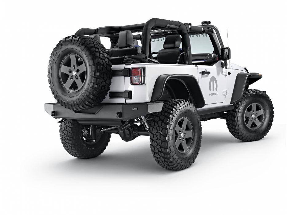 2015 Jeep Wrangler Dark Side Concept JK suv 4x4 mopar wallpaper