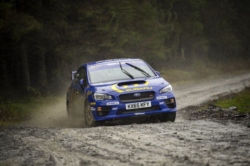 2015 Subaru WRX STI NR4 rally race racing wallpaper