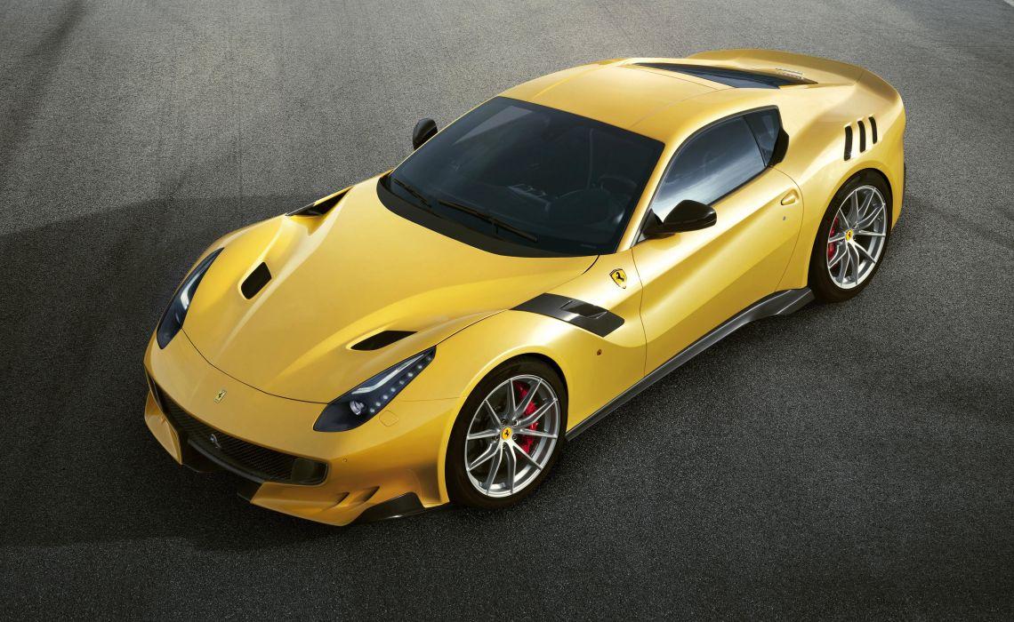 2016 Ferrari F12tdf coupe supercar f12 wallpaper