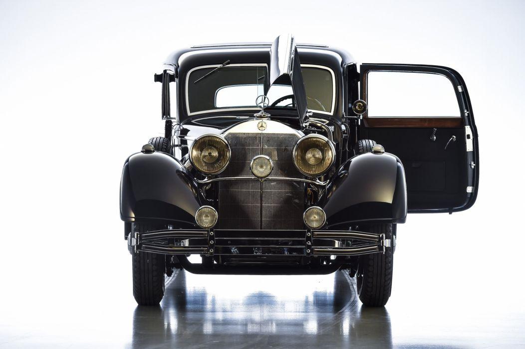 1937 Mercedes Benz 770 Pullman Limousine W07 kuxury retro vintage wallpaper