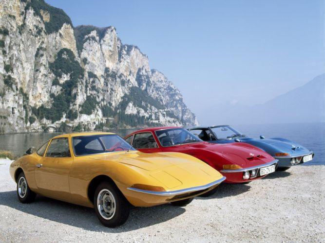 1968-2009 Opel G-T classic wallpaper