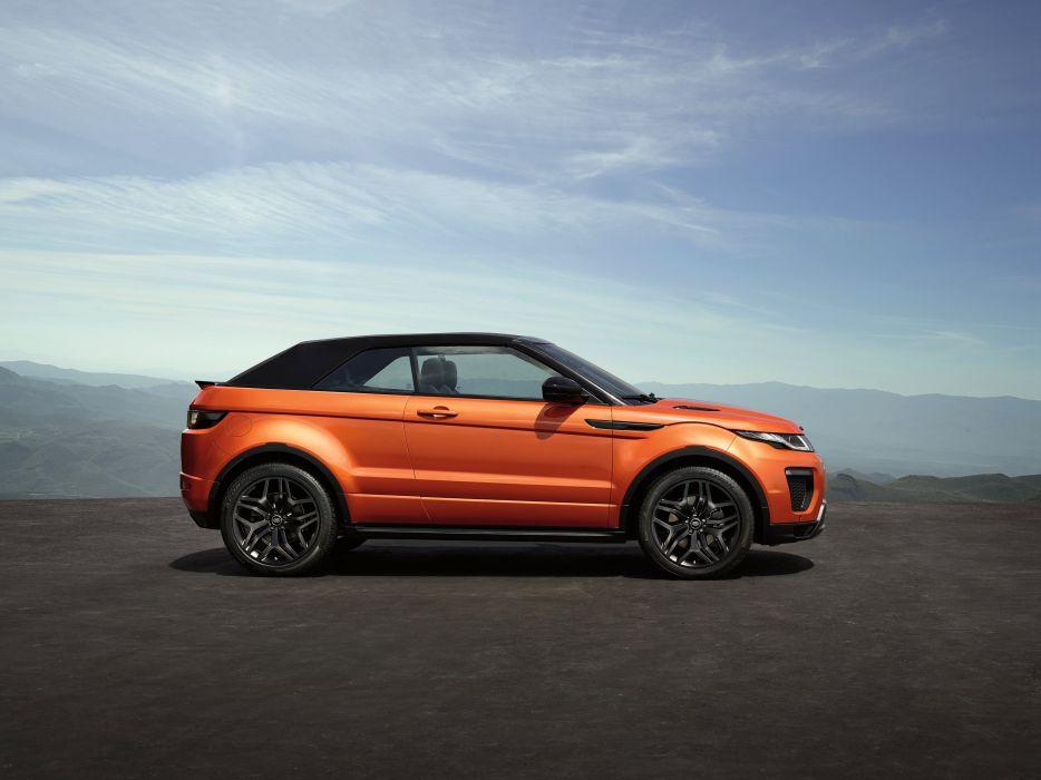 2016 Range Rover Evoque Convertible suv awd luxury land wallpaper