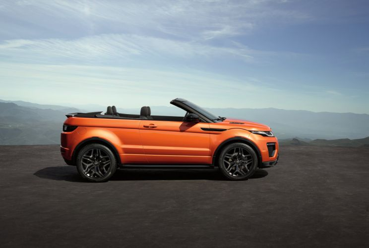 2016 Range Rover Evoque Convertible suv awd luxury land wallpaper