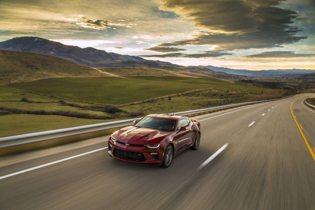 2016 Chevrolet Camaro S-S muscle wallpaper