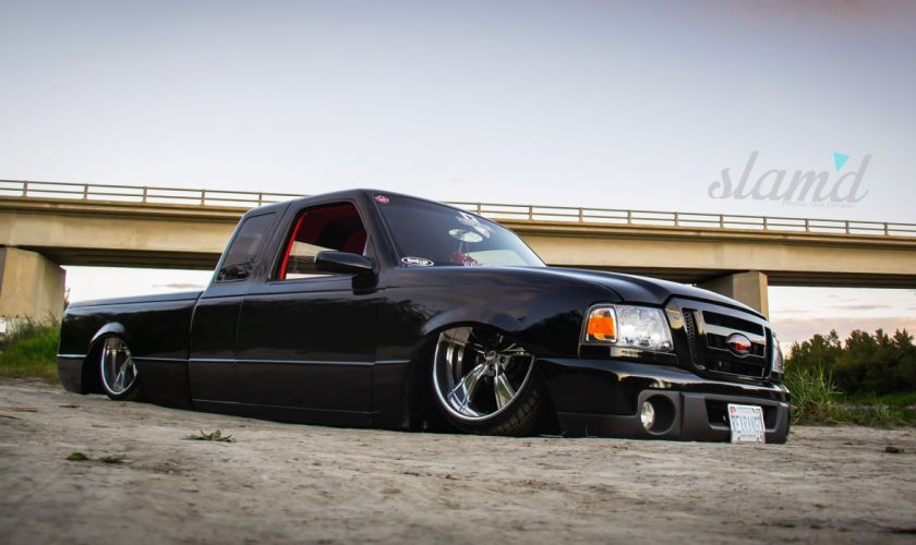 1995 FORD RANGER tuning custom hot rod rods lowrider pickup truck wallpaper