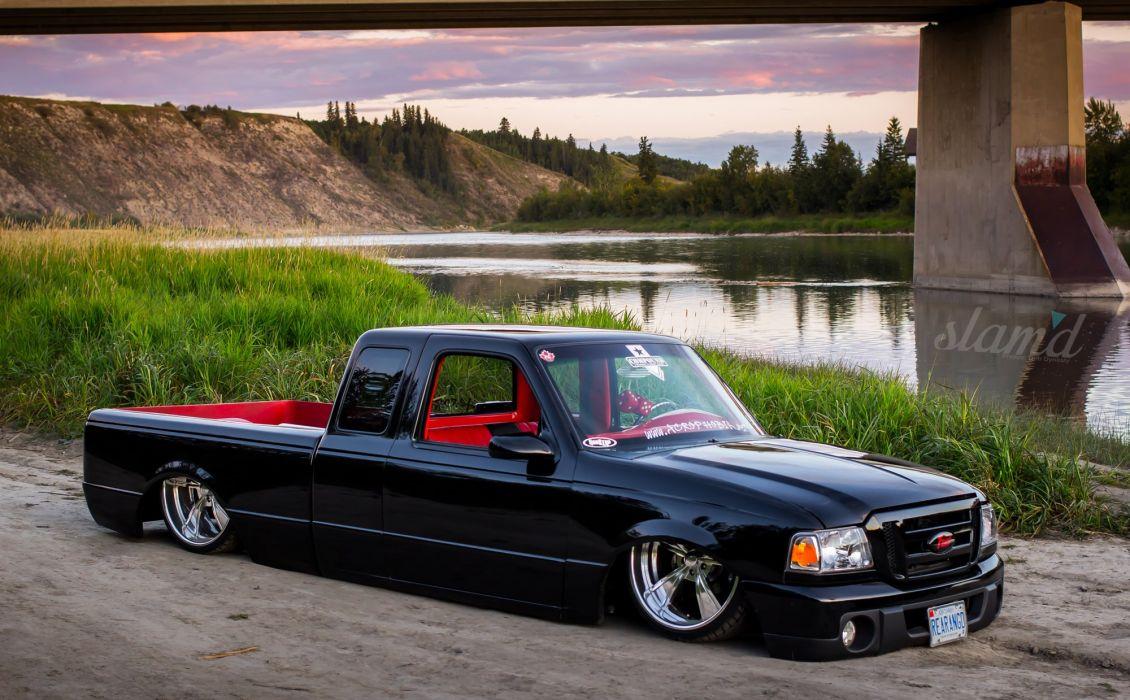 1995 FORD RANGER tuning custom hot rod rods lowrider pickup truck wallpaper