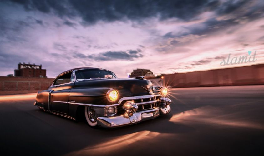 1953 CADILLAC COUPE DEVILLE tuning custom hot rod rods lowrider wallpaper