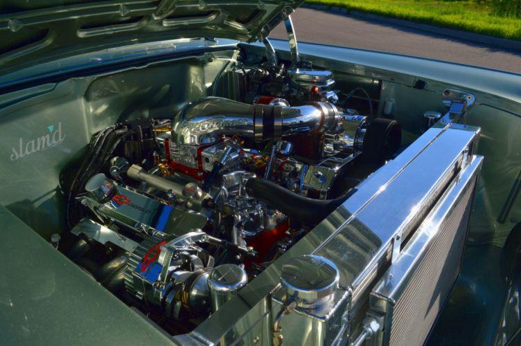 1957 CHEVROLET BEL AIR HARDTOP tuning custom hot rod rods lowrider wallpaper