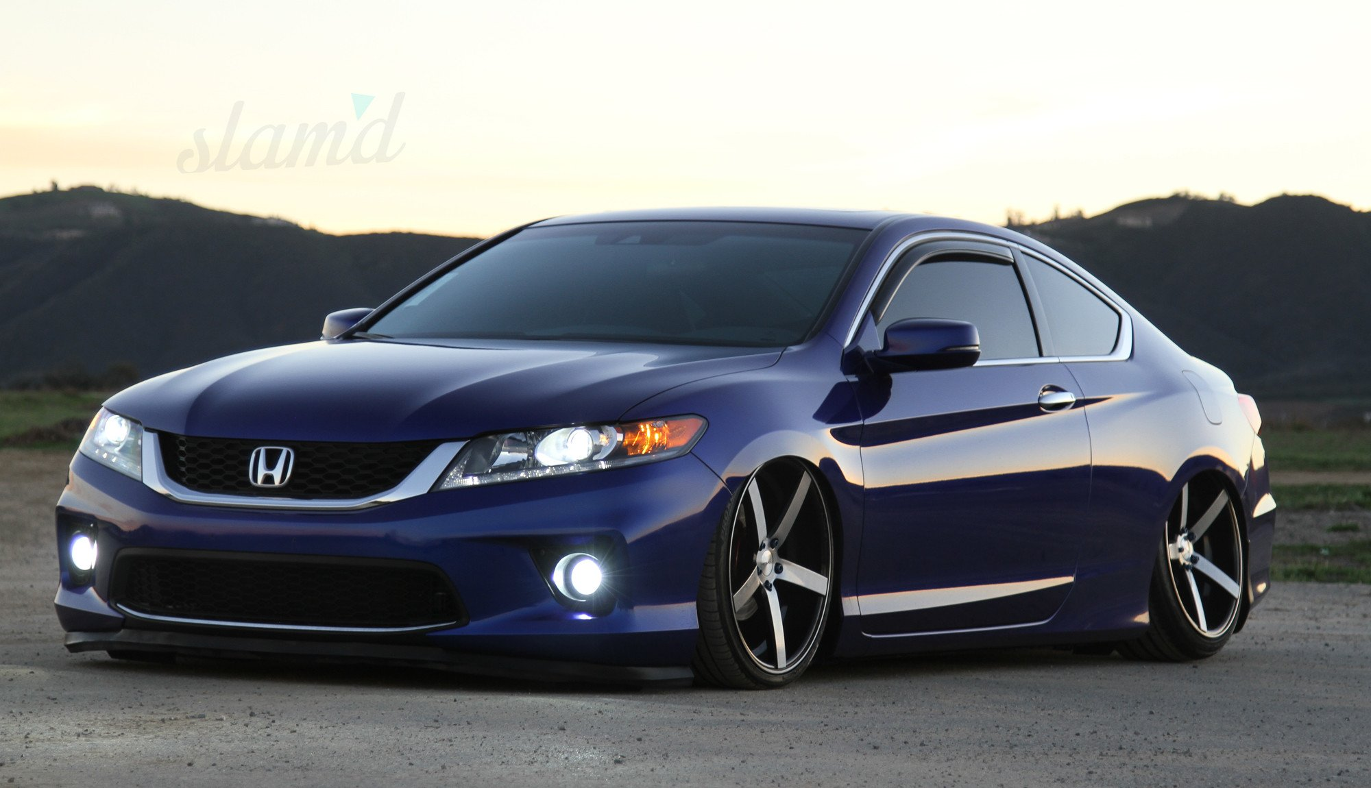 2013 Honda Accord Ex L Tuning Custom Lowrider Wallpaper