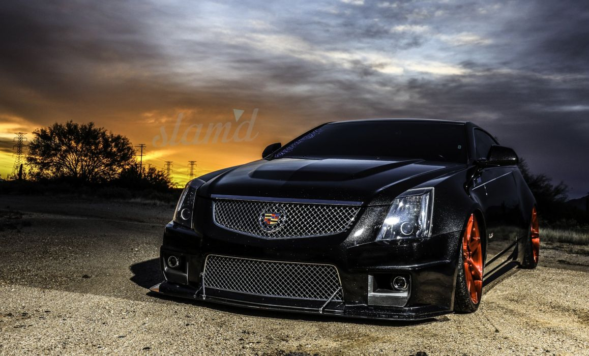 cts car shoot that on forged mile hennessey did looks vehicle cadillac in v the performance and such quarter a wheels is seconds black this photo custom amazing great