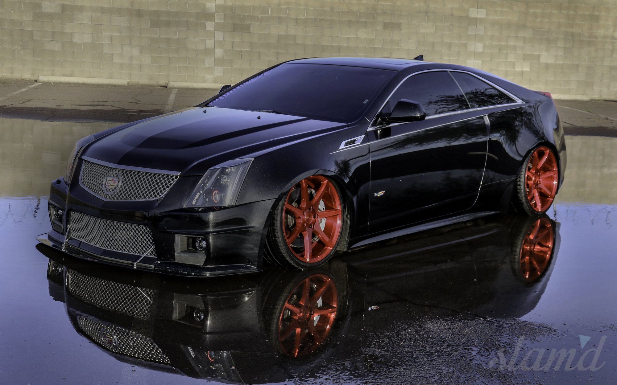 2012 Cadillac Cts V Coupe Tuning Custom Lowrider Wallpaper