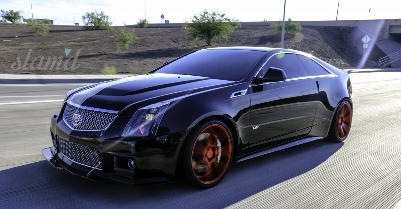 2012 CADILLAC CTS-V COUPE tuning custom lowrider wallpaper