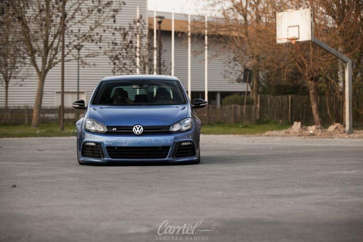 2009 Volkswagen GTI R20 tuning custom lowrider wallpaper