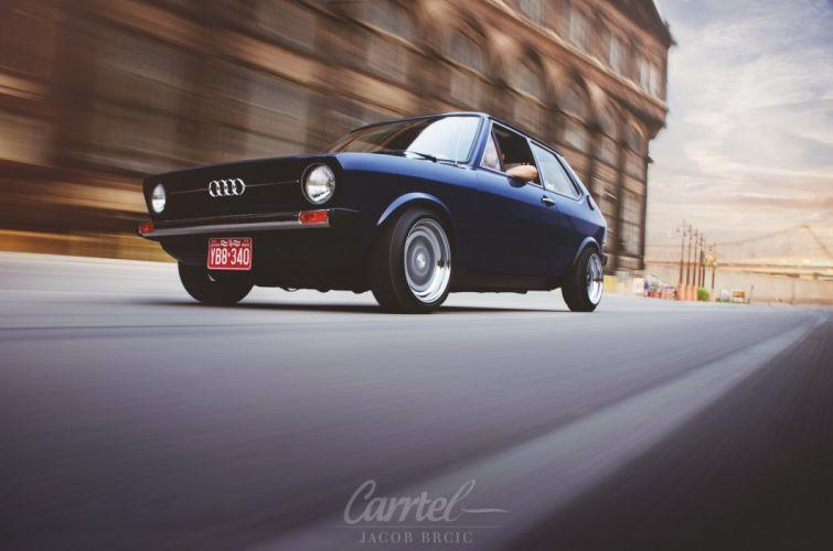 1977 Audi tuning custom lowrider wallpaper