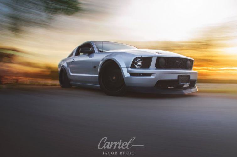 2006 Ford Mustang G-T Ghia tuning custom lowrider muscle hot rod rods wallpaper