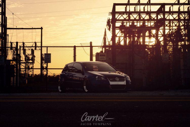 Volkswagon Mk5 R32 Ghia tuning custom lowrider wallpaper