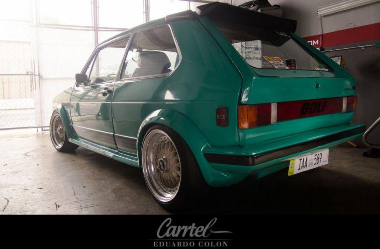 Volkswagon MK1 Caribe G-T Ghia tuning custom lowrider wallpaper