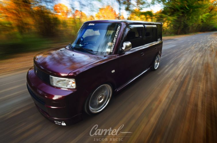 2005 Scion x-B tuning custom lowrider suv van truck wallpaper